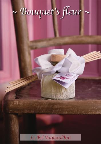 diffuseur par capillarit bouquet 39 s fleur 100 ml. Black Bedroom Furniture Sets. Home Design Ideas